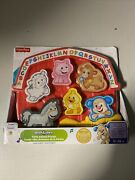 Fisher-price Laugh And Learn Farm Animal Puzzle - Songs Sounds And Phrases
