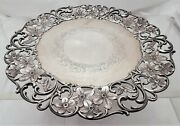 Roger Williams Sterling Silver Floral Plate / Dish