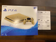 Brand New And Sealed Sony Playstation 4 Slim Limited Edition 1tb Gold Console