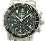 Zenith El Primero Flyback 01/02.0470.405 Date Chronograph Automatic Menand039s_597100