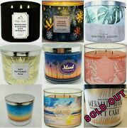 Pick 6 Bath And Body Works/white Barn 3 Wick Candles - Build Youand039re Bundle Of 6