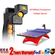 Jt-a Update Table Tennis Robot Automatic Ping Pong Ball Practice Train Machine