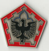 555th Task Force Band Of Brothers Oif 05-07 Challenge Coin 1.75 Dia Bx6