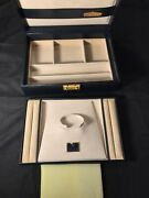 Rolex Jumbo Blue Vintage Watch Display Box And Jewelry Tray 51.00.01 Authentic