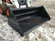 Bobcat 100 Snow Litter Bucket For Skid Steers And Track Loaders Ssl Quick Attach