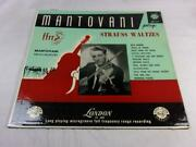 Mantovani And His Orchestra - Mantovani Plays Strauss Waltzes - Ll-685 - Import