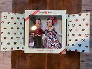 Mickey And Minnie Mouse Limited Edition Valentineand039s Day Doll Set - Fast Shipping