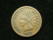2021 Sale Xf 1882 Indian Head Cent Penny W/ Diamonds And Full Liberty 32e