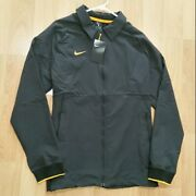 Nike Therma Midweight Jacket Grey Fleece Lined Interior Ci4472 Men's Size Large