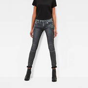 G-star Jeans And0395620 Elwood Mid Waist Skinny Wmnand039 Aged Cobler Skinny Fit W25 L34