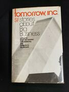 Tomorrow Inc. Sf Stories About Big Business 1976 First Hcdj Philip K. Dick More