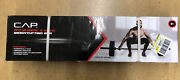 New In Box Cap 7' Olympic 3 Piece 7ft Weightlifting Bar 300lb Capacity