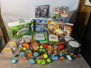 Big Skylanders Collection Some Sealed Wii Xbox 360 Wii U Figures And Games