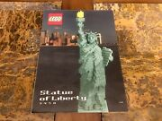 Lego Statue Of Liberty 3450 Sculptures 100 Complete Very Rare
