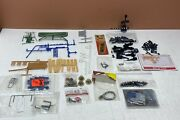 Lot Of Train Parts And Accessories, Engine Lights, Couplers, Knuckle, People Etc..