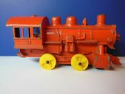 Vintage Hubley Train / Lancaster 65 Yrs / Factory Mistake / Window Not Cut Out