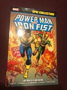 Power Man And Iron Fist Epic Collection Vol 1 Heroes For Hire Tpb Sc Luke Cage