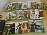 Lot Of 20 Xbox 360 Video Games Cod Left 4 Dead Gears Army Of 2 Resident Evil