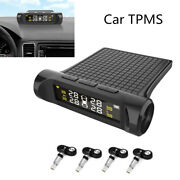 Lcd Display Car Security Alarm Systems Car Tpms Tyre Pressure Monitoring System