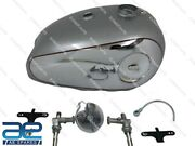 Bsa Goldstar Chrome Fuel Tank 4 Gal With Cap+tap Rubber Plug And Breather Pipe Ecs