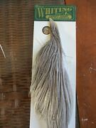 Whitingand039s Herbert Minor Half Neck Cape Blue Dun Dry Fly Hackle