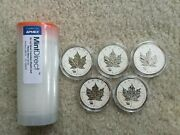 30x 2012 Canada Maple Leaf With Titanic Privy 1 Oz Silver Coin - Royal Canadian