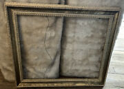 Vintage Ornate Wood Gold Gesso Picture Frame Image Size 16andrdquo X 20 Paintings Art