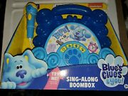 Nickelodeon Blues Clues And You Boombox Sing Along Music Show 2020 Kids Toy New