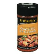12 Pack El Ma Mia Bbq Chicken Seasoning 80g -fresh And Delicious - From Canada