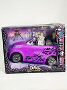 Monster High Scaris City Of Frights Purple Doll Car Vehicle Convertible Scooter