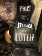 Deontay Wilder Back-up To The Used Glove Anthony Joshua Tyson Fury Mike Tyson