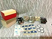 Vintage View Master And Reels Lot 8 Viewers, 16 Reels, 2 Storage Cont.