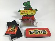 """Archived Acme Studio Ed """"big Daddy"""" Roth """"rat Fink"""" Roller Ball Pen Rare"""