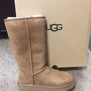 Brand New Ugg Classic Tall Boots Chestnut Size 6