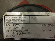 Military Specifications M49055/12-03j E Special Purpose Cable Nsn6145-01-264-91