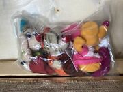 Nwt Lot Of 3 Cinderella Mice Toys Jaq Suzy And Gus Plush Beanies Disney Store