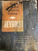 1961 Edition Chevrolet Body Parts And Accessories Catalog  1933-1962 Cars Trucks