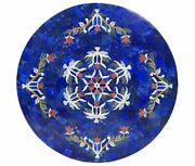 30 Marble Dining Table Top Inlay Rare Semi Round Center Coffee Table Ar0979
