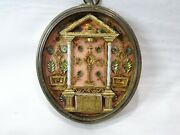 ✝ Reliquary Relic Ss. Crucis Virgin Mary St. Joseph St. Dominic St. Gregory