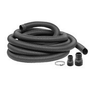 Universal Sump Pump Discharge Hose Kit 24 Ft X 1.25 Inch Water Drain Attachment