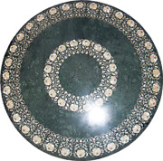 36 Marble Dining Table Top Inlay Rare Semi Round Center Coffee Table Ar1036