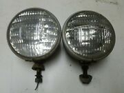 Vintage Guide Headlights Ford Chevy Rat Rod Hot Rod Tractor Original