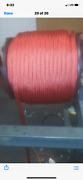 3/ 4 Polyester Double Braid Rope 600feet Red