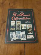 Price And Values Guide Railroad Collectibles Book 4th Edition Schroeder Collectors