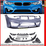 F80 M3 Style Front Bumper For F31 F30 Bmw 3 Series 2012-2018 W/performance Lip