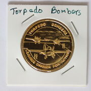 Battle Of Coral Sea Torpedo Bombers Medal 3263760/x53
