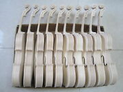 10pcs 4/4 Unfinished Violins Flame Maple Russian Spruce Handmade White Violins