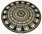 36 Marble Dining Table Top Inlay Rare Semi Round Center Coffee Table Ar1039