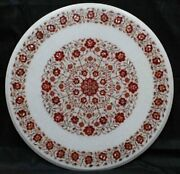 36 Marble Dining Table Top Inlay Rare Semi Round Center Coffee Table Ar1045
