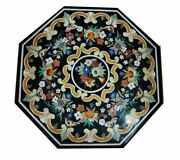 36 Marble Dining Table Top Inlay Rare Semi Antique Center Coffee Table Ar1050